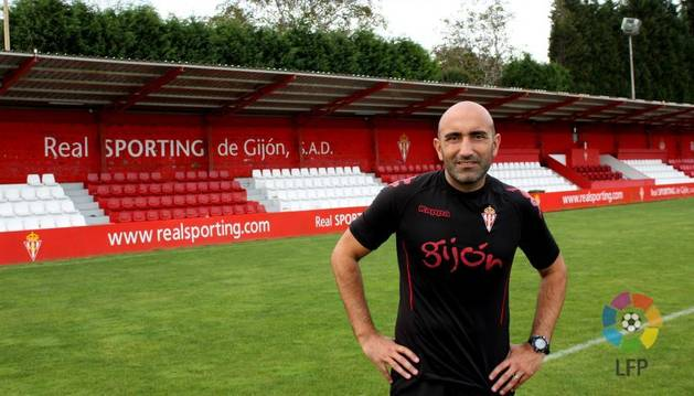 Abelardo, entrenador del Sporting