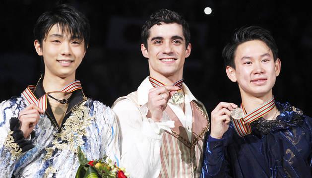 Javier Fernández se hace con el oro en los Mundiales de Shanghái