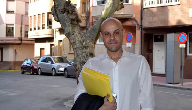 Luis Martínez opta a la alcaldía de Azagra con una lista independiente