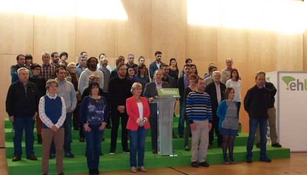 El equipo de Bildu para el Parlamento