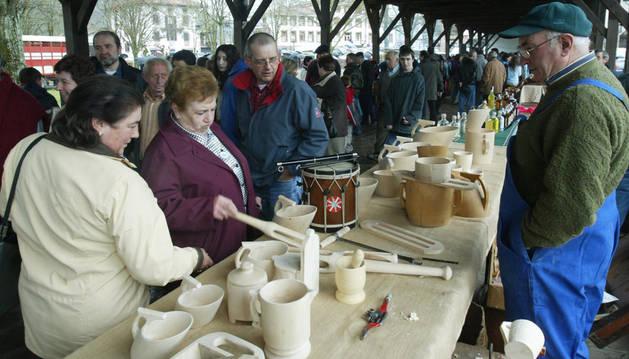 La semana del queso precede la feria de primavera de Baztan