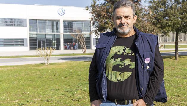 Cuatro voces para los trabajadores de VW-Navarra