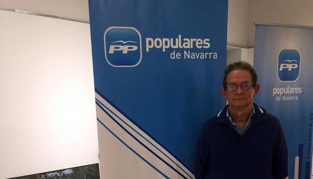 Ramón García, candidato del PP a la alcaldía de Corella