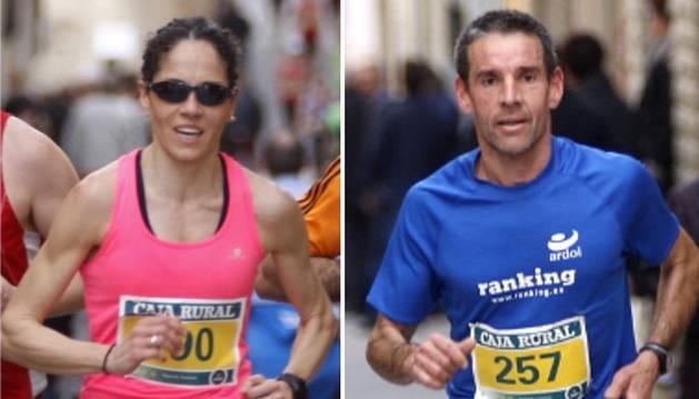 Inma Sainz y Óscar Primo, líderes del CN Running