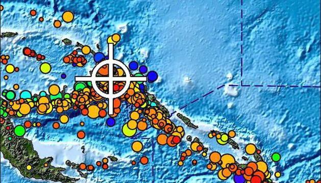 Emitida una alerta de tsunami en Papúa Nueva Guinea esta madrugada