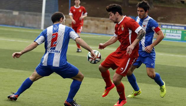 Imagen del Izarra-Peña Sport de la primera vuelta