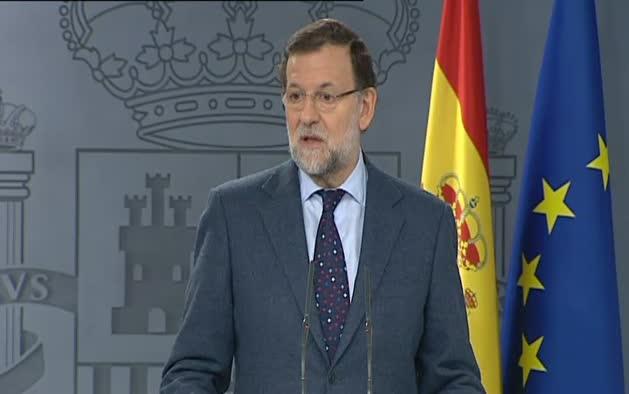 """Rajoy critica """"la nueva hoja de ruta"""" de los soberanistas catalanes"""