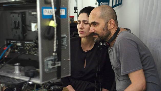 Los hermanos Elkabetz, directores de 'Gett'.