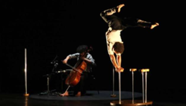 Música, danza y circo con 'Heian' en Burlada