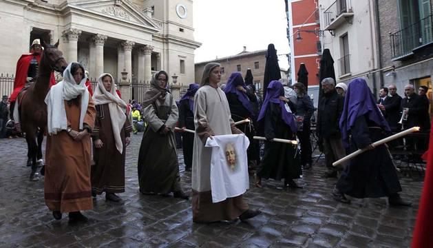 La Procesión de Viernes Santo en Pamplona saldrá a las 19.30 horas