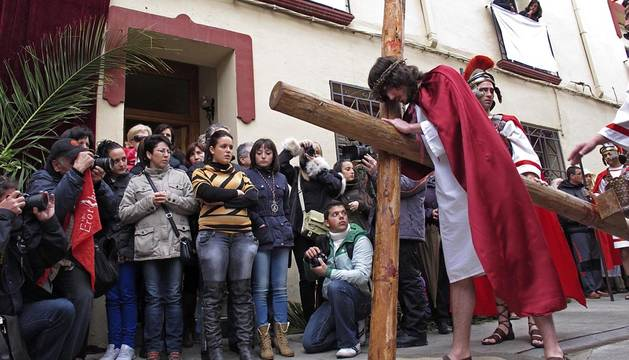 Andosilla escenificará el Vía Crucis