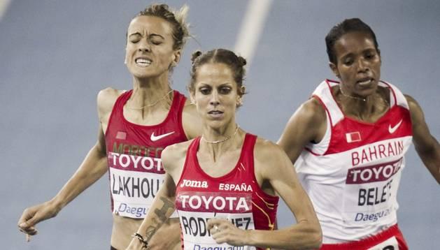 La atleta española, Natalia Rodríguez