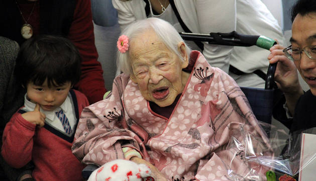 Con 117 años, muere la persona más mayor del mundo