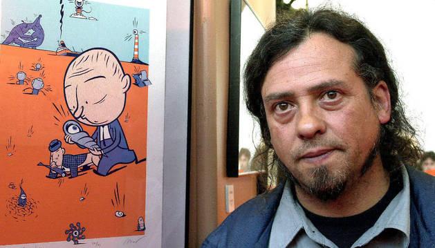 El dibujante Max, en una foto de archivo.