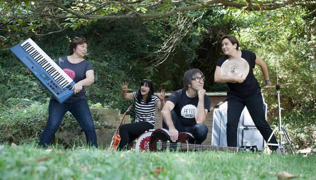 El grupo de música Petit Pop.