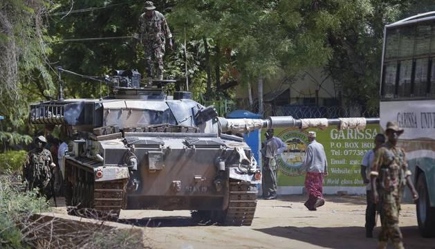 Al menos 70 muertos en el ataque a una universidad de Kenia