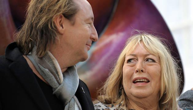 Julian y Cynthia Lennon, en una imagen de octubre de 2010.