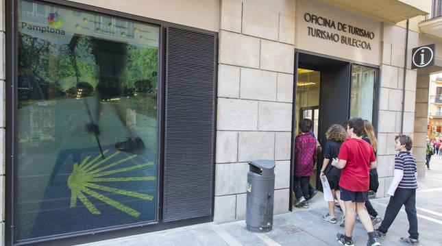 La Oficina de Turismo en Pamplona amplía su horario hasta San Fermín
