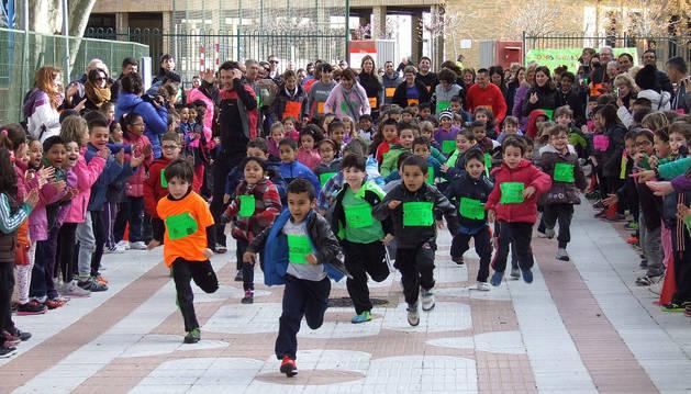 El colegio El Castelar corre en solidaridad con Etiopía
