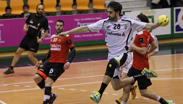 Jorge Fernandes, contra el Granollers