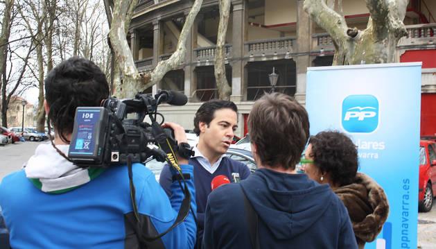 Pablo Zalba apuesta trabajar por Pamplona y evitar la confrontación