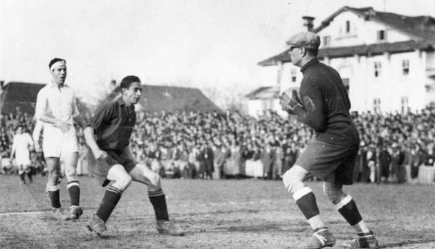 Vergara presiona a Zamora en 1934