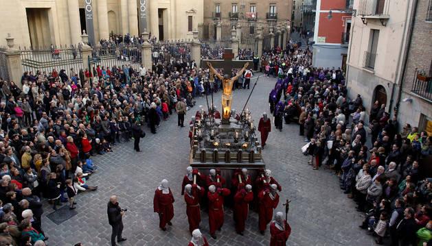 Una de las procesiones más reforzadas de Semana Santa