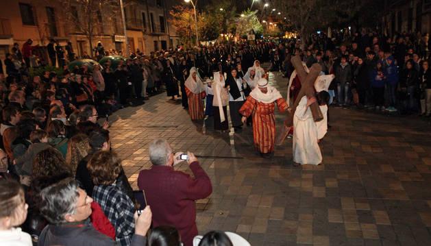 Fervor y pasión en las calles del Casco Antiguo de Tudela