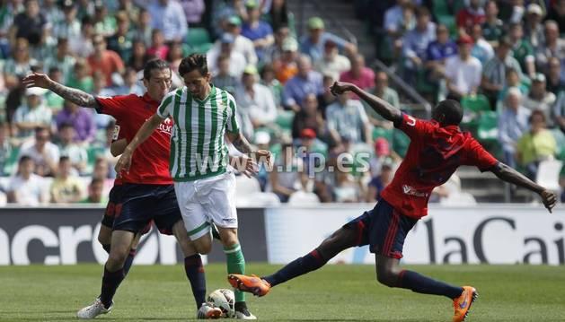 Vujadonovic y Loé, contra el Betis