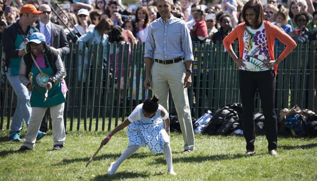 La Casa Blanca, abierta para buscar Huevos de Pascua