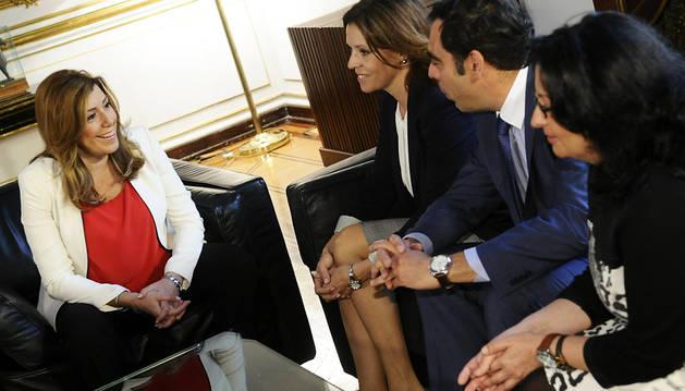 Calma en Andalucía a la espera de nuevos contactos de Susana Díaz