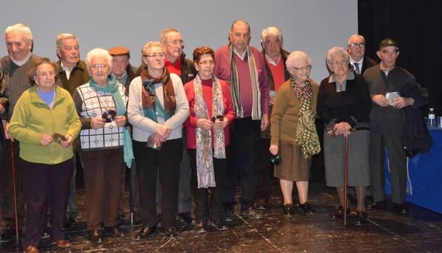 Varios de los participantes en el proyecto de Los Arcos.