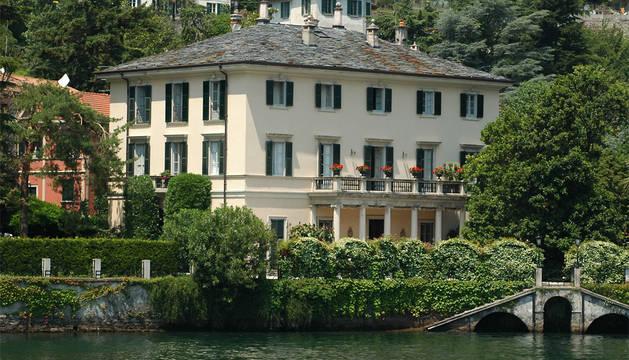 Mansión de George Clooney en el lago de Como.