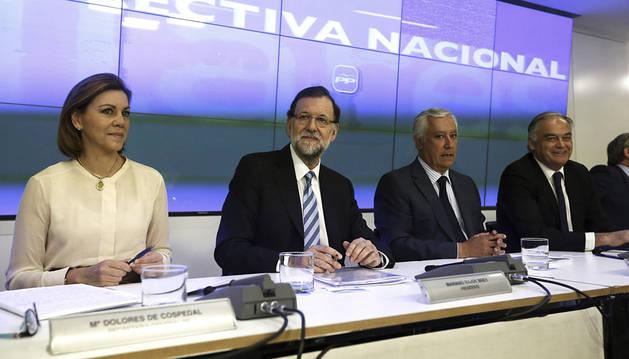 Los barones del PP callan en la junta directiva y después reclaman unidad