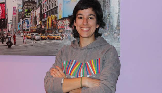 Alicia Eraso Blázquiz, vencedora del reto de marzo.