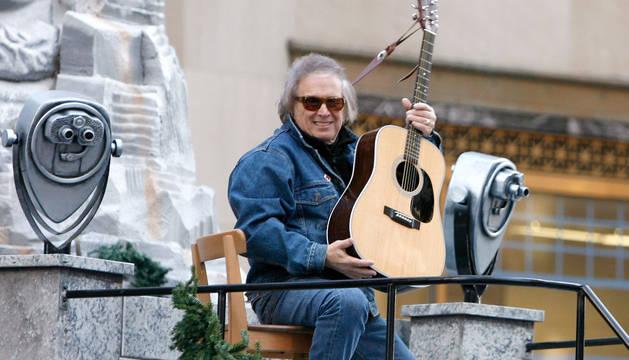 Don McLean, autor de 'American Pie'