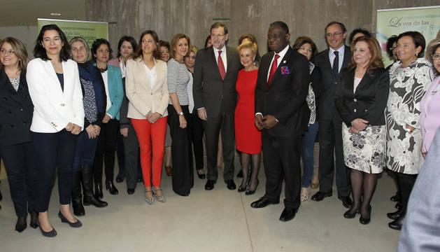 Rajoy y Cospedal, en el I Congreso Internancional de Mujeres Rurales
