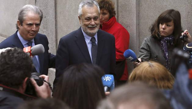 Griñán llega al Supremo para declarar ante el juez del caso ERE