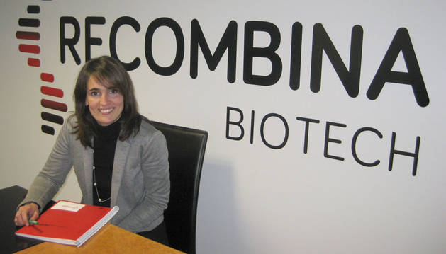 Cristina Latasa, gerente de Recombina