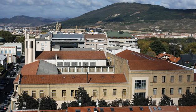 Colegio de Salesianos en Pamplona.