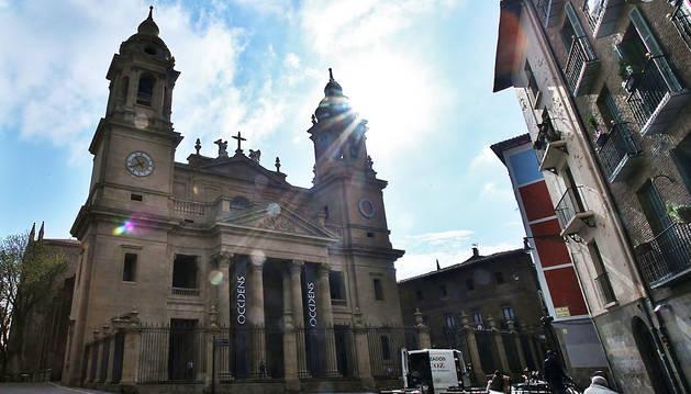 La catedral de Pamplona recibirá el martes a la efigie de San Miguel de Aralar.