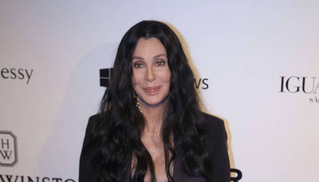 La cantante Cher, durante la gala.