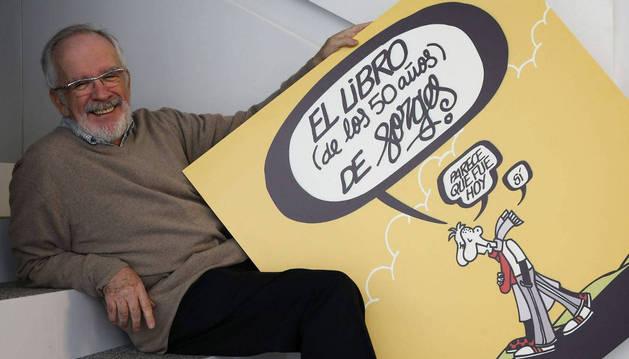 El dibujante y humorista Forges.