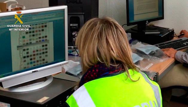 La Guardia Civil ha desarrollado la operación Canterbury.