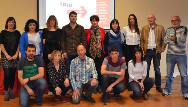 Candidatura de LOIU para las próximas elecciones municipales del 24 de mayo.