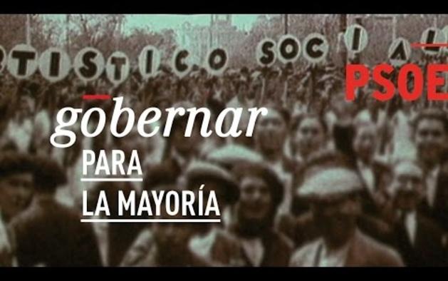 Vídeo de campaña del PSOE