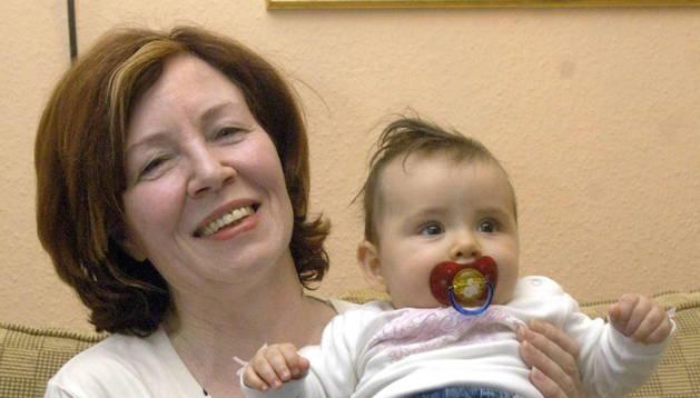 Una alemana embarazada de cuatrillizos a los 65