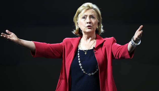 Hillary Clinton, en septiembre de 2014.