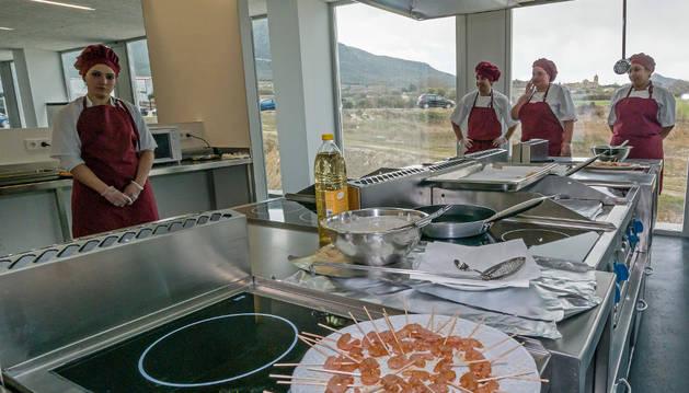 Instalaciones de cocina profesional.