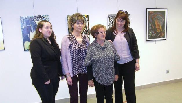Yoana Grández, Yolanda Manrique, Concha Bermejo y Mónica Campos.